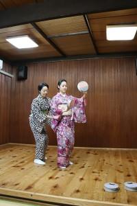 日本舞踊 教室の紹介1