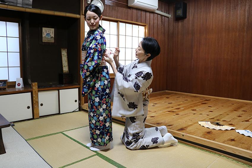 日本舞踊 体験レッスン3