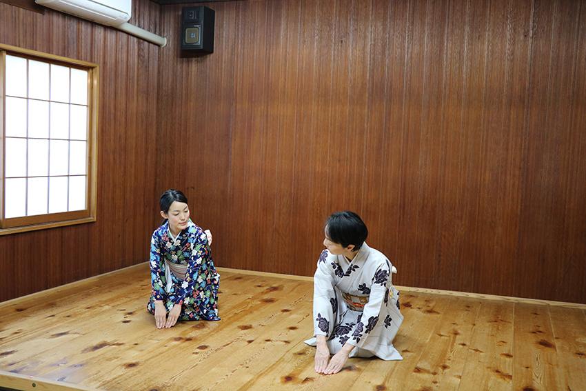 日本舞踊 体験レッスン4