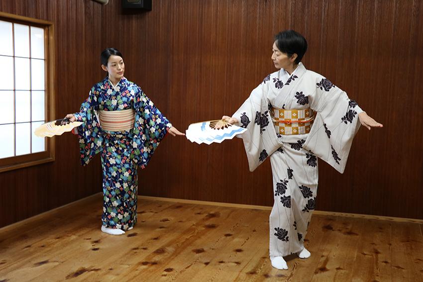日本舞踊 体験レッスン5
