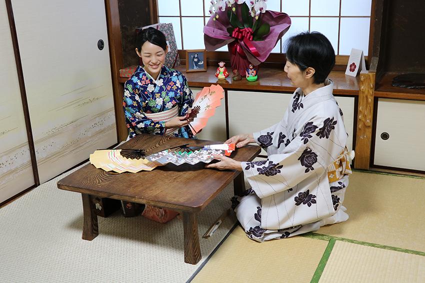 日本舞踊 体験レッスン6