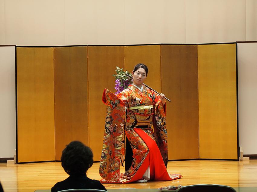 日本舞踊 体験レッスン7